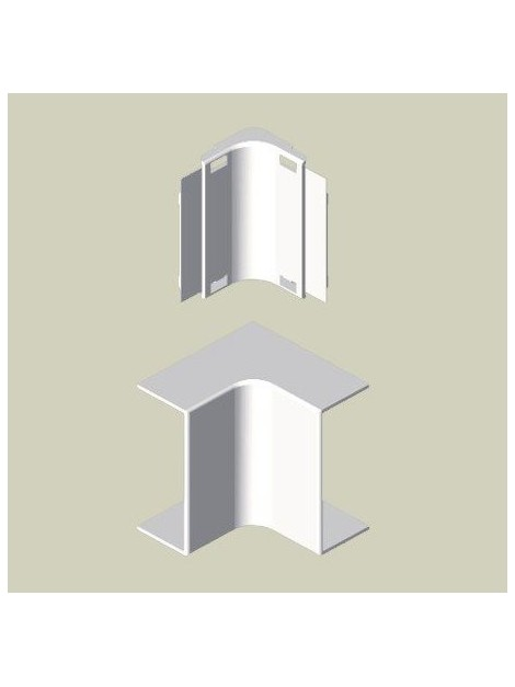 ANGLE INTERIEUR Haut. 16mm