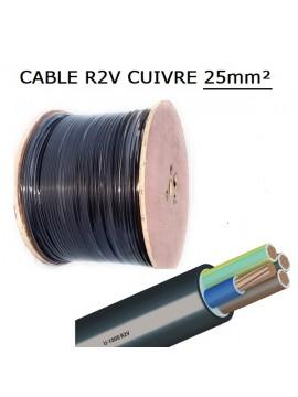 CABLE CUIVRE RVFV 3X16