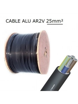 CABLE CUIVRE R2V 5G2,5
