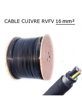 CABLE CUIVRE RVFV 4G10