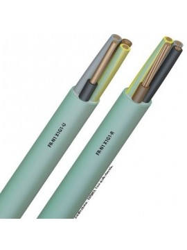 CABLE F/FTP 2x4P CAT6a 500