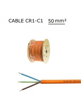 CABLE F/UTP 2x4P CAT6a 500