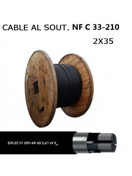 CABLE F/FTP 1X4P CAT6a 555