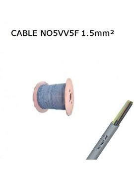 CABLE SOUPLE NO5VV5F 2X0,50