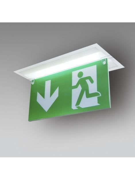 Etiquette Horizontale Flèche Haut Pour CrystalWay 45